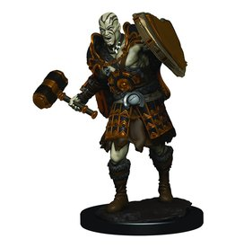 Wizkids D&D Minis: Goliath Male Fighter: W3 Icons of the Realms Premium Figures