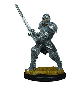 Wizkids D&D Minis: Human Male Fighter W3 Icons of the Realms Premium Figures