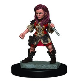 Wizkids D&D Minis: Halfling Female Rogue W3 Icons of the Realms Premium Figures