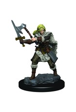 Wizkids D&D Minis: Human Female Barbarian W3 Icons of the Realms Premium Figures