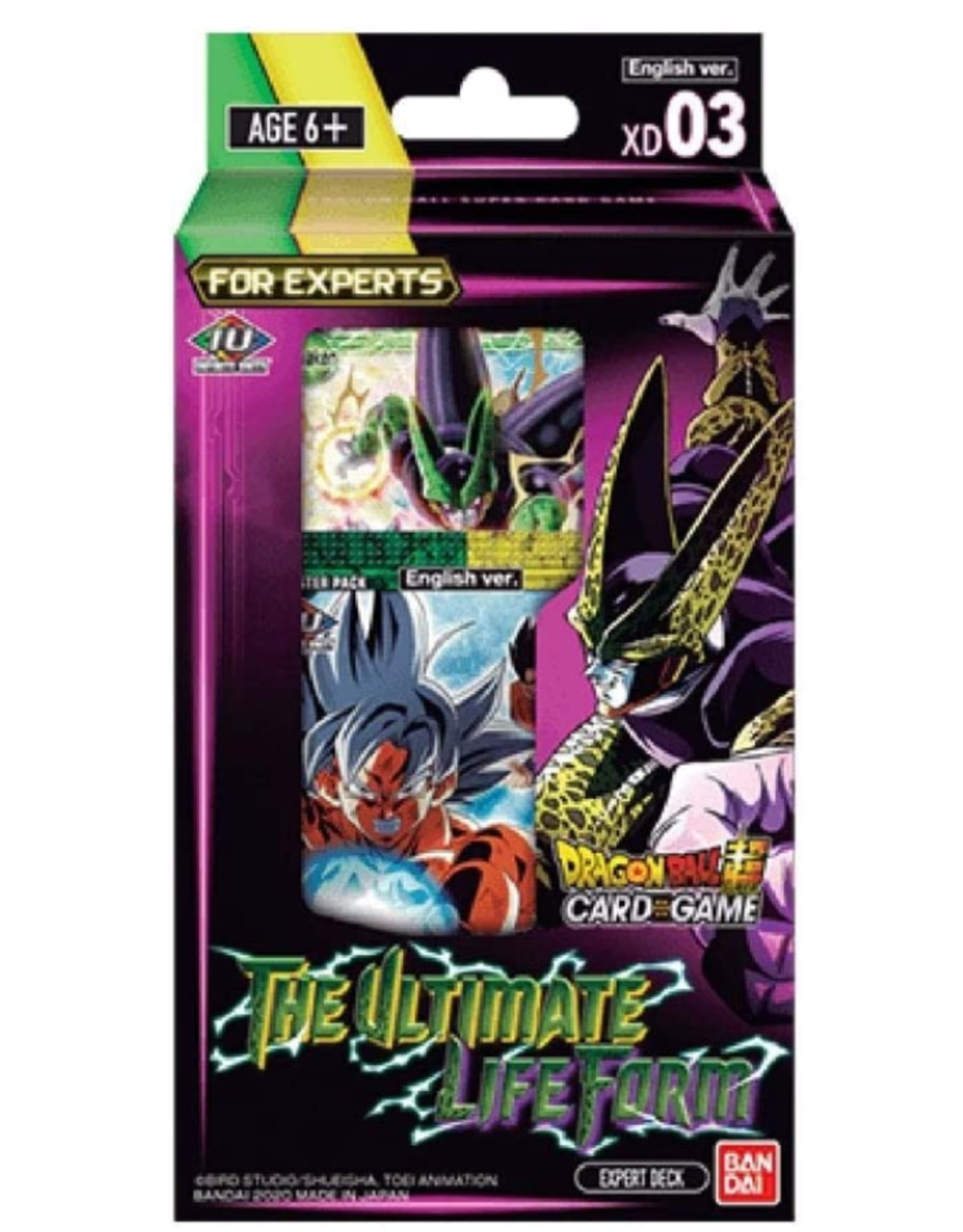 Bandai Dragon Ball Super: Series 9 - Expert 3 deck