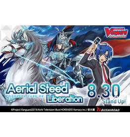 Bushiroad Cardfight!! Vanguard: V Booster - Aerial Steed Liberation box