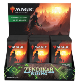 Wizards of the Coast Zendikar Rising Set Booster box
