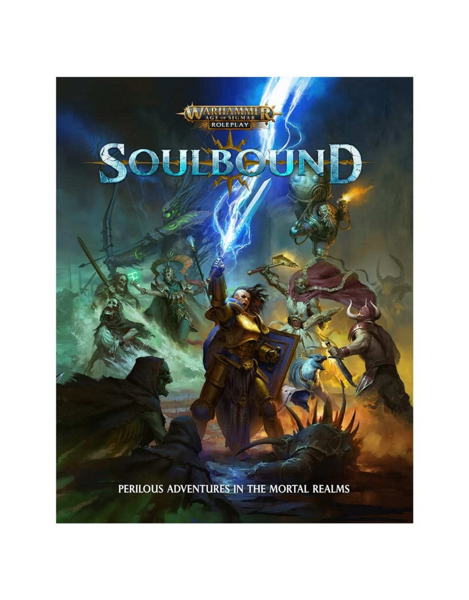 Cubicle Seven Warhammer Age of Sigmar - Soulbound RPG:  Core Rulebook