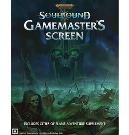 Cubicle Seven Warhammer Age of Sigmar - Soulbound RPG: Gamemaster's Screen