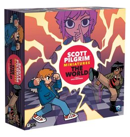 Renegade Scott Pilgrim Miniatures The World: Core Game - Painted Edition