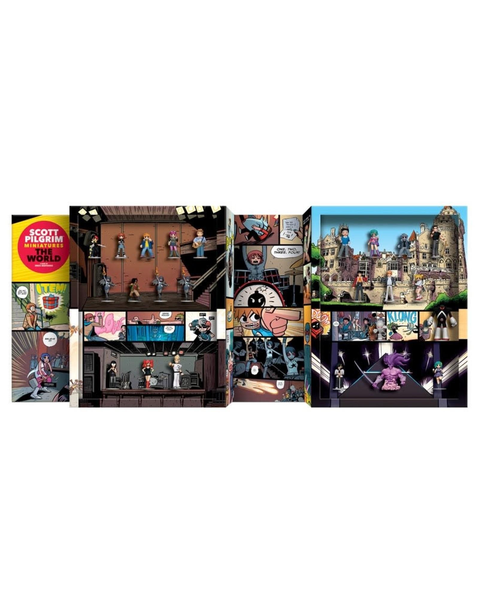 Renegade Scott Pilgrim Miniatures The World: Collectors Edition Figure Set