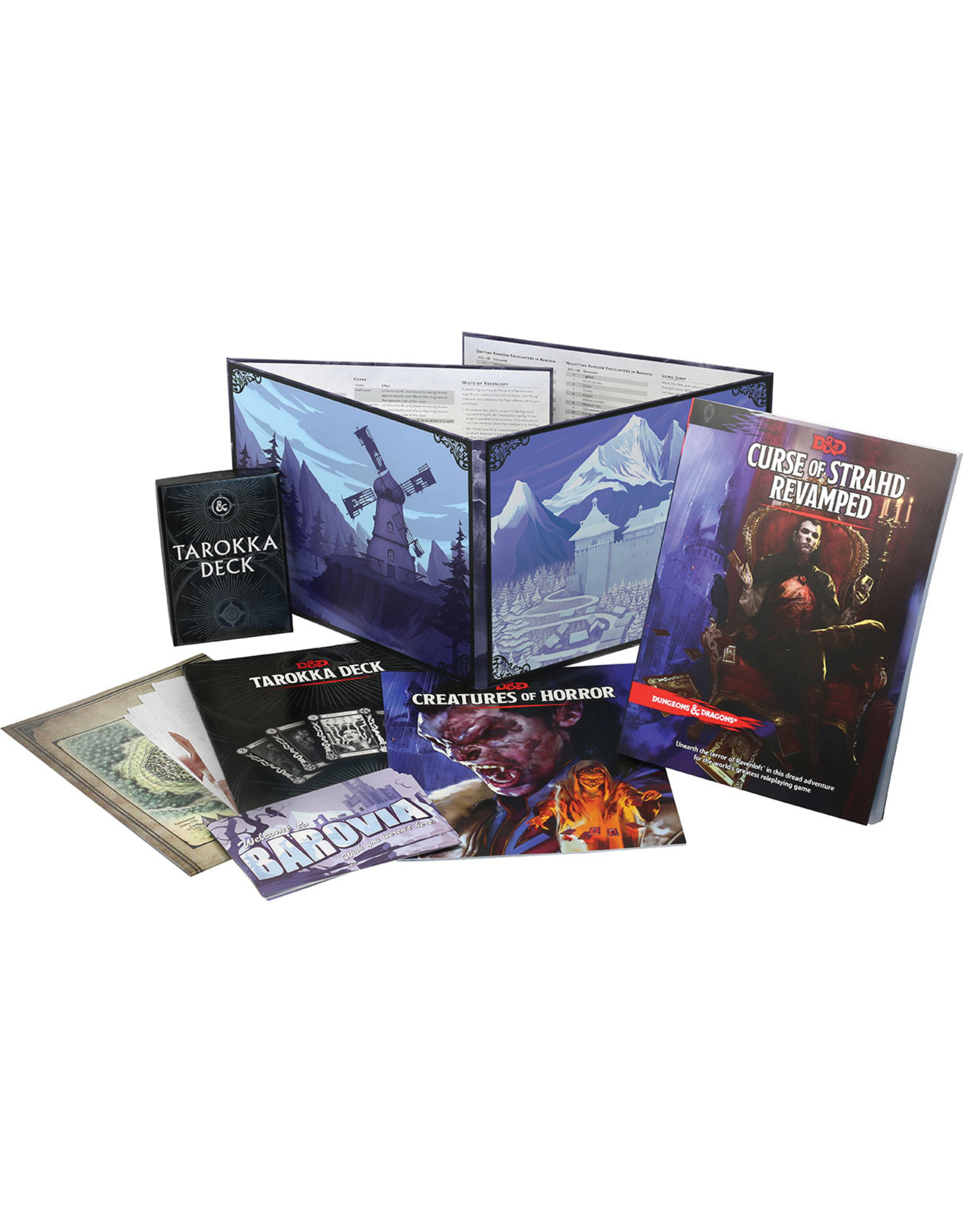 Wizards of the Coast D&D 5th Edition: Curse of Strahd Revamped
