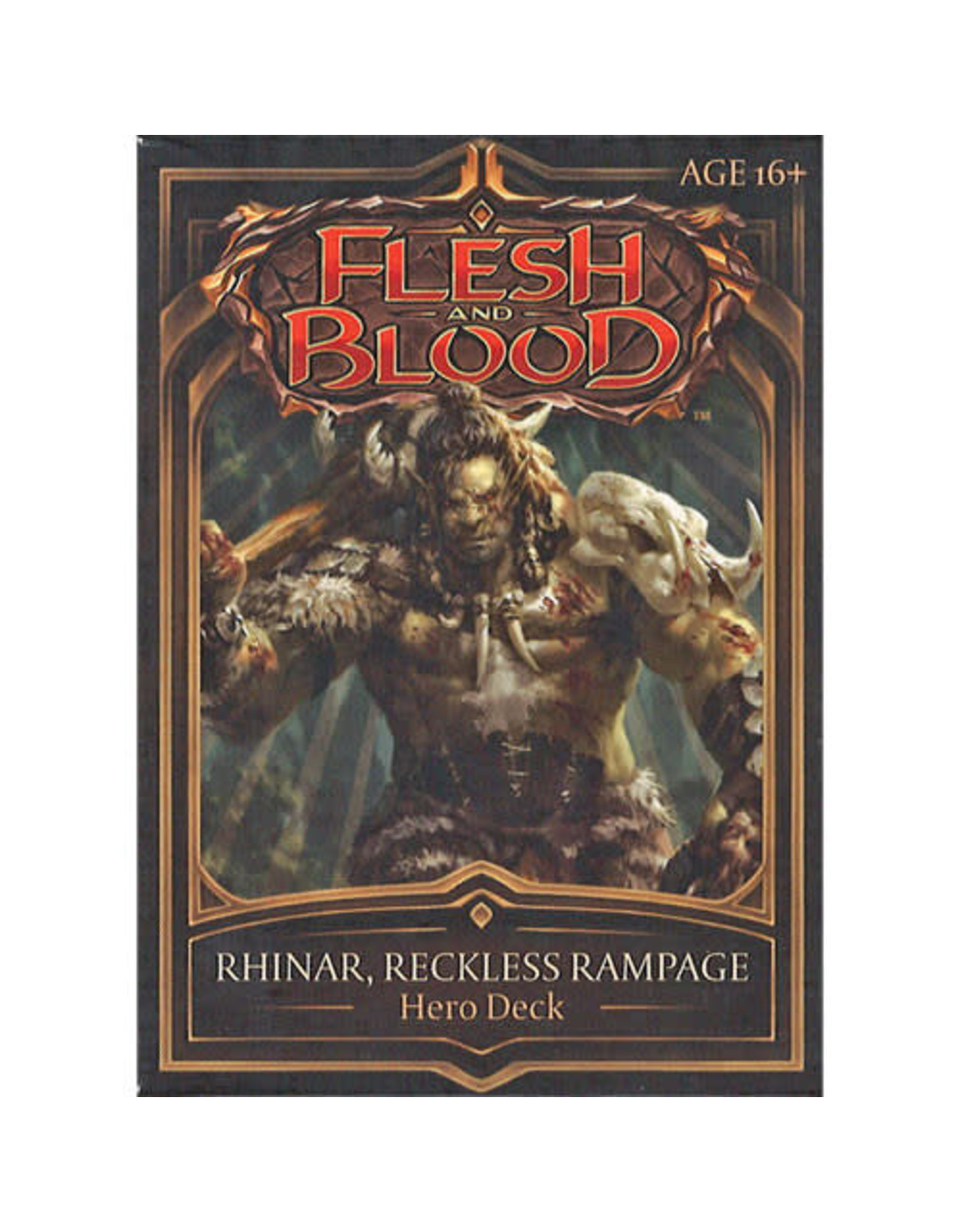 Flesh and Blood: Rhinar, Reckless Rampage Hero Deck