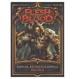 Flesh and Blood: Rhinar, Reckless Rampage Hero Deck