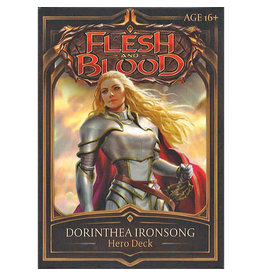 Flesh and Blood: Dorinthea Ironsong Hero Deck