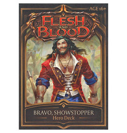 Flesh and Blood: Bravo, Showstopper Hero Deck