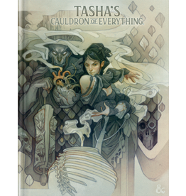 Wizards of the Coast PREORDER: D&D 5th Edition: Tasha's Cauldron of Everything Alternate Cover (LE)