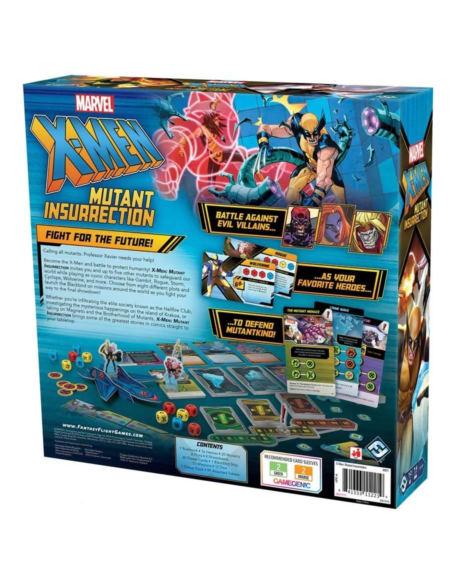 Fantasy Flight Games PREORDER: Marvel X-Men: Mutant Insurrection