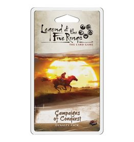 Fantasy Flight Games Legend of the Five Rings LCG: Campaigns of Conquest Dynasty Pack