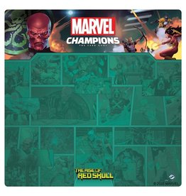 Fantasy Flight Games Marvel Champions LCG: Red Skull 1-4 Player Game Mat