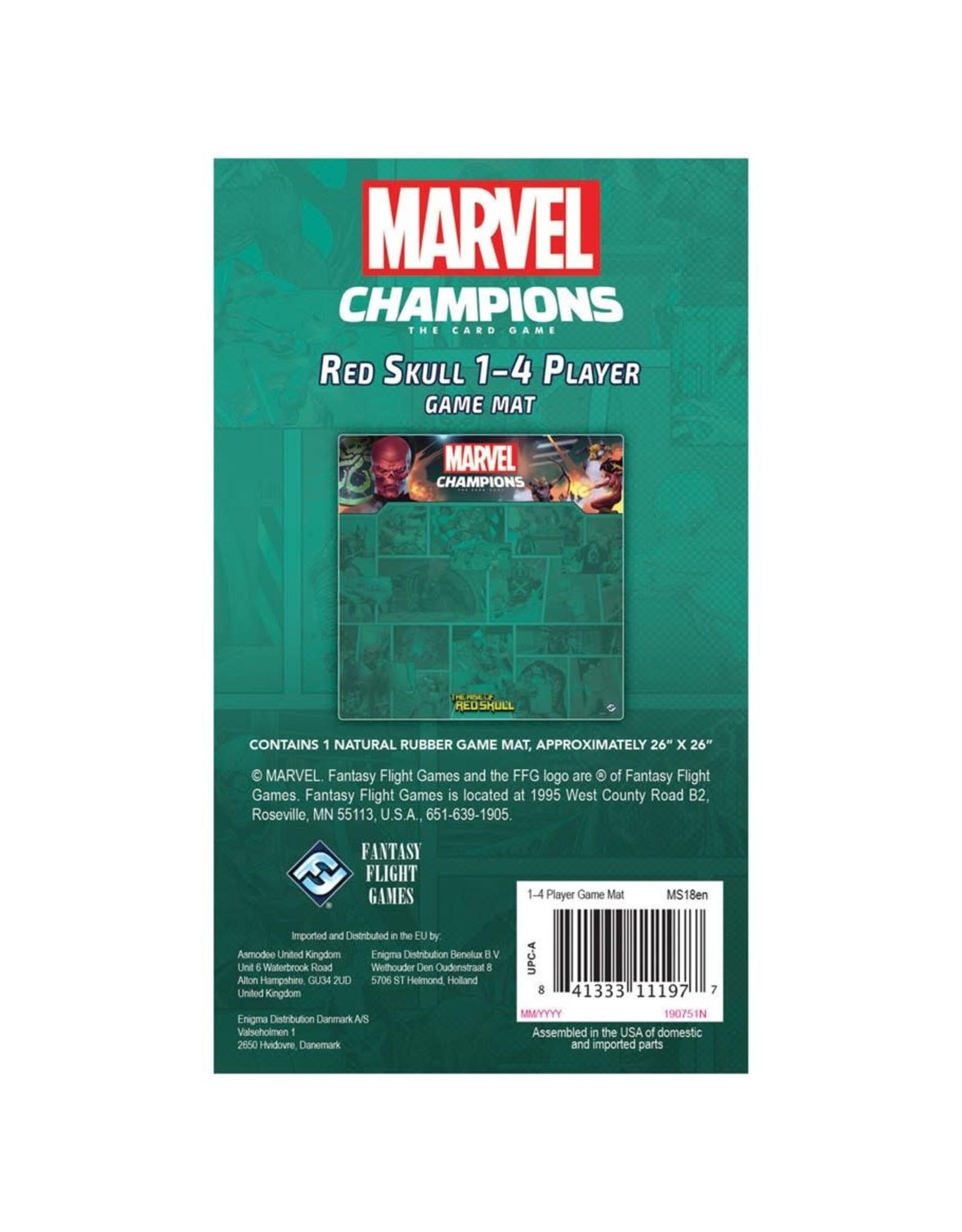 Fantasy Flight Games Marvel Champions LCG: Red Skull 1-4 Player Game Mat