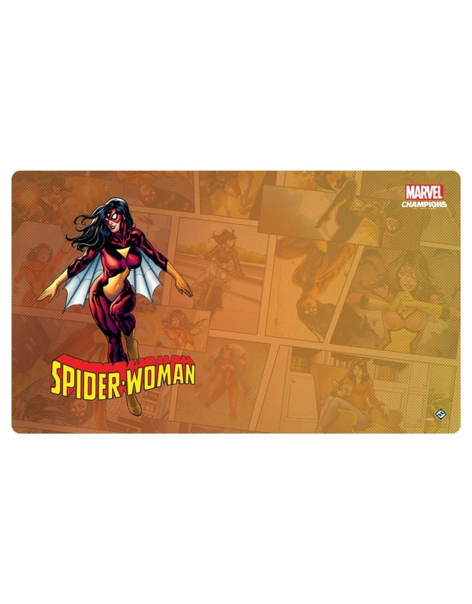 Fantasy Flight Games Marvel Champions LCG: Spider-Woman Game Mat