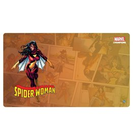 Fantasy Flight Games Marvel Champions LCG: Spider-Woman Game Mat