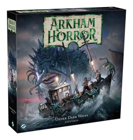 Fantasy Flight Games Arkham Horror Board Game 3rd edition: Under Dark Waves