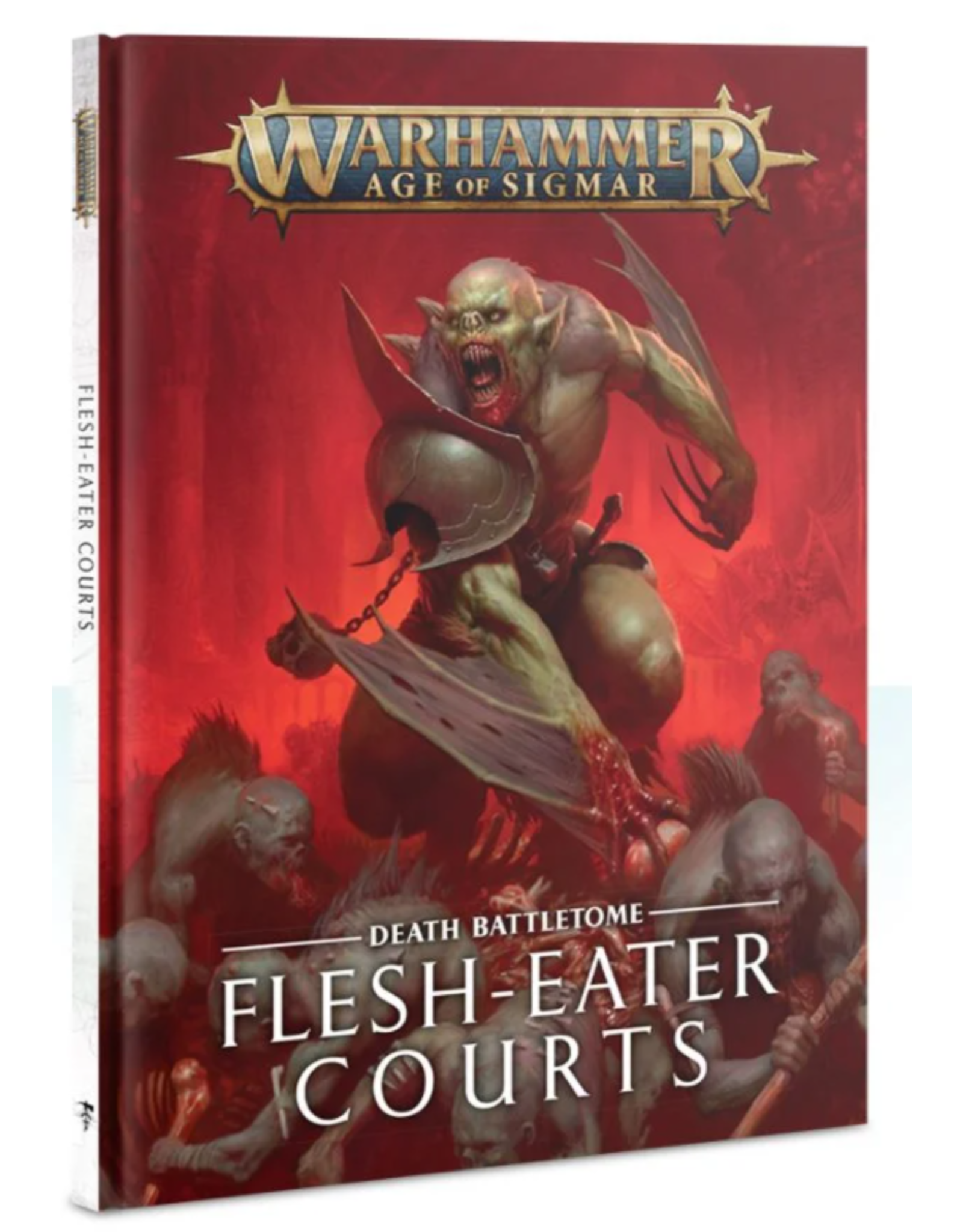 Games Workshop Warhammer Age of Sigmar Battletome: Flesh-Eater Courts