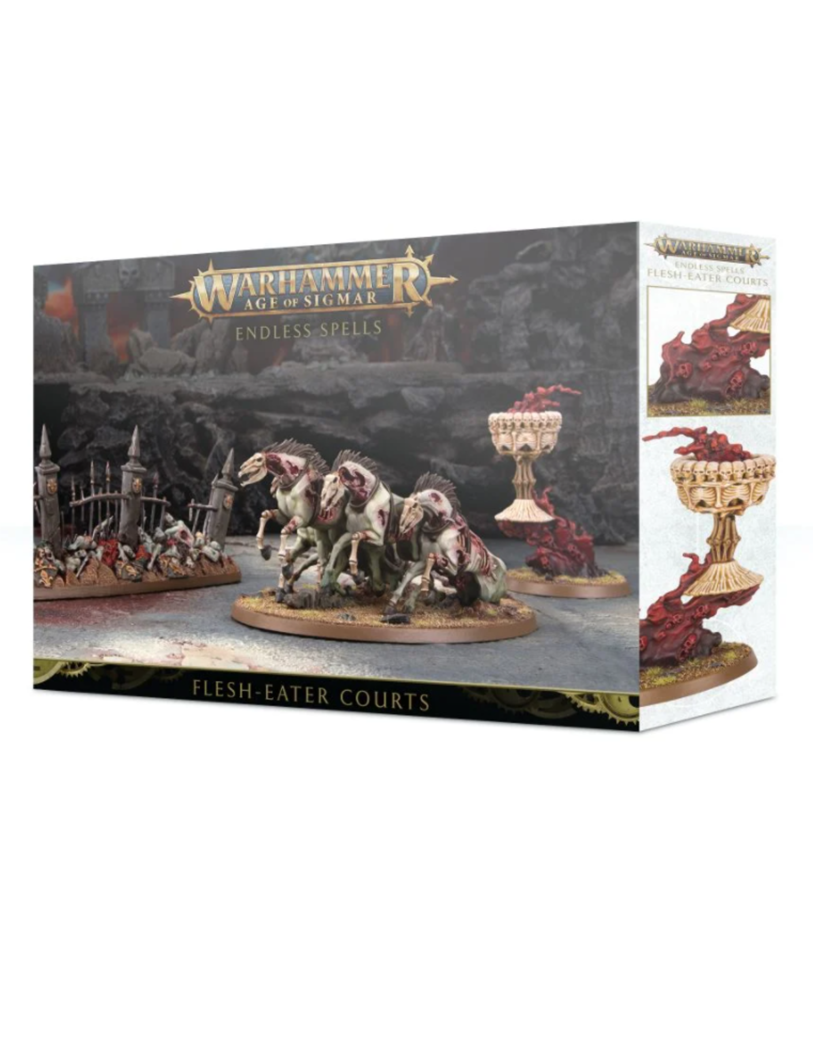 Games Workshop Warhammer Age of Sigmar: Endless Spells Flesh-Eater Courts