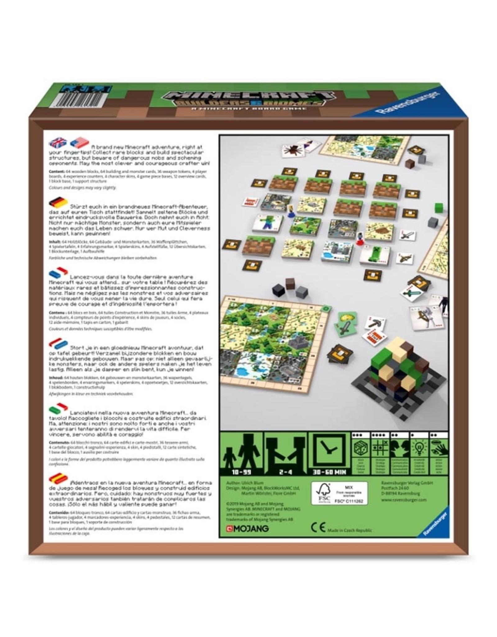 Ravensburger Minecraft: Builders & Biomes