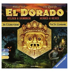 Ravensburger The Quest for El Dorado: Heroes and Hexes Expansion