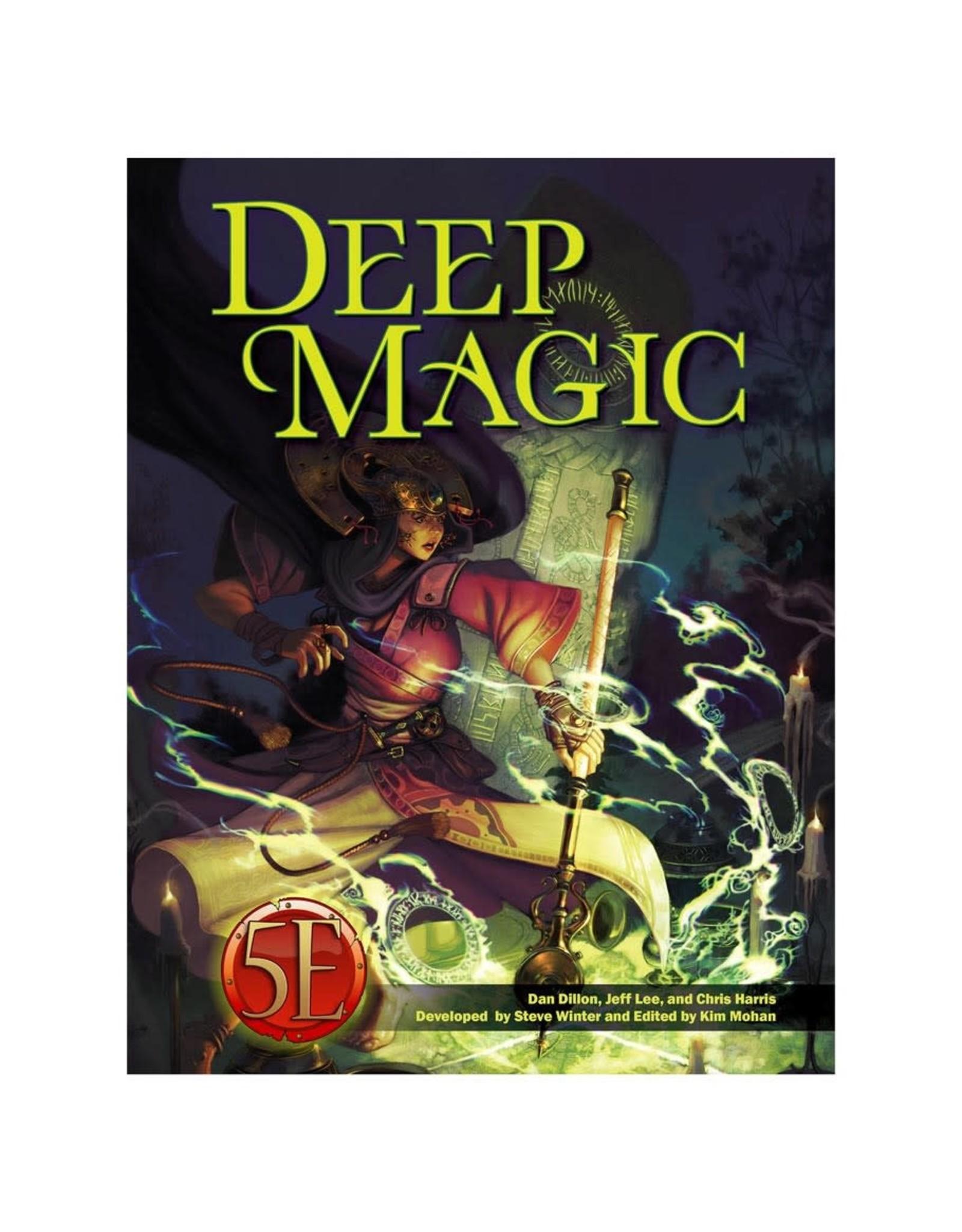 kobold press D&D 5E RPG: Deep Magic