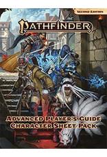 Paizo Pathfinder 2E: Advanced Player's Guide Character Sheet Pack