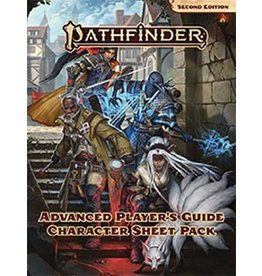 Paizo Pathfinder 2E: Advanced Player's Guide Character Sheet Pack