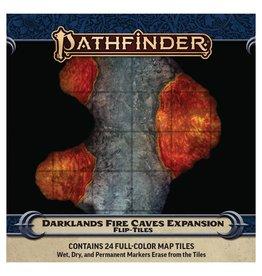 Paizo Pathfinder RPG: Flip-Tiles - Darklands Fire Caves Expansion