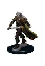 Wizkids Pathfinder Battles: Elf Fighter Male W1 Premium Painted Figure