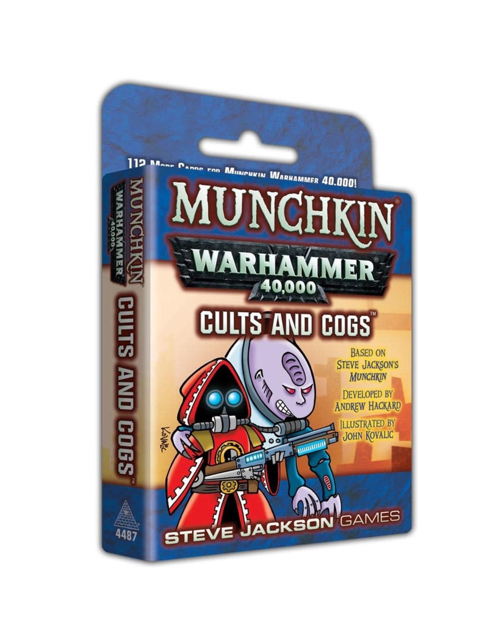 Steve Jackson Games Munchkin: Warhammer 40k Cults and Cogs