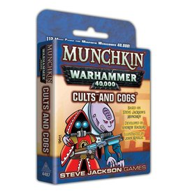 Steve Jackson Games Munchkin: Warhammer 40k Cults and Cogs