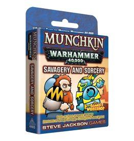 Steve Jackson Games Munchkin: Warhammer 40k Savagery and Sorcery