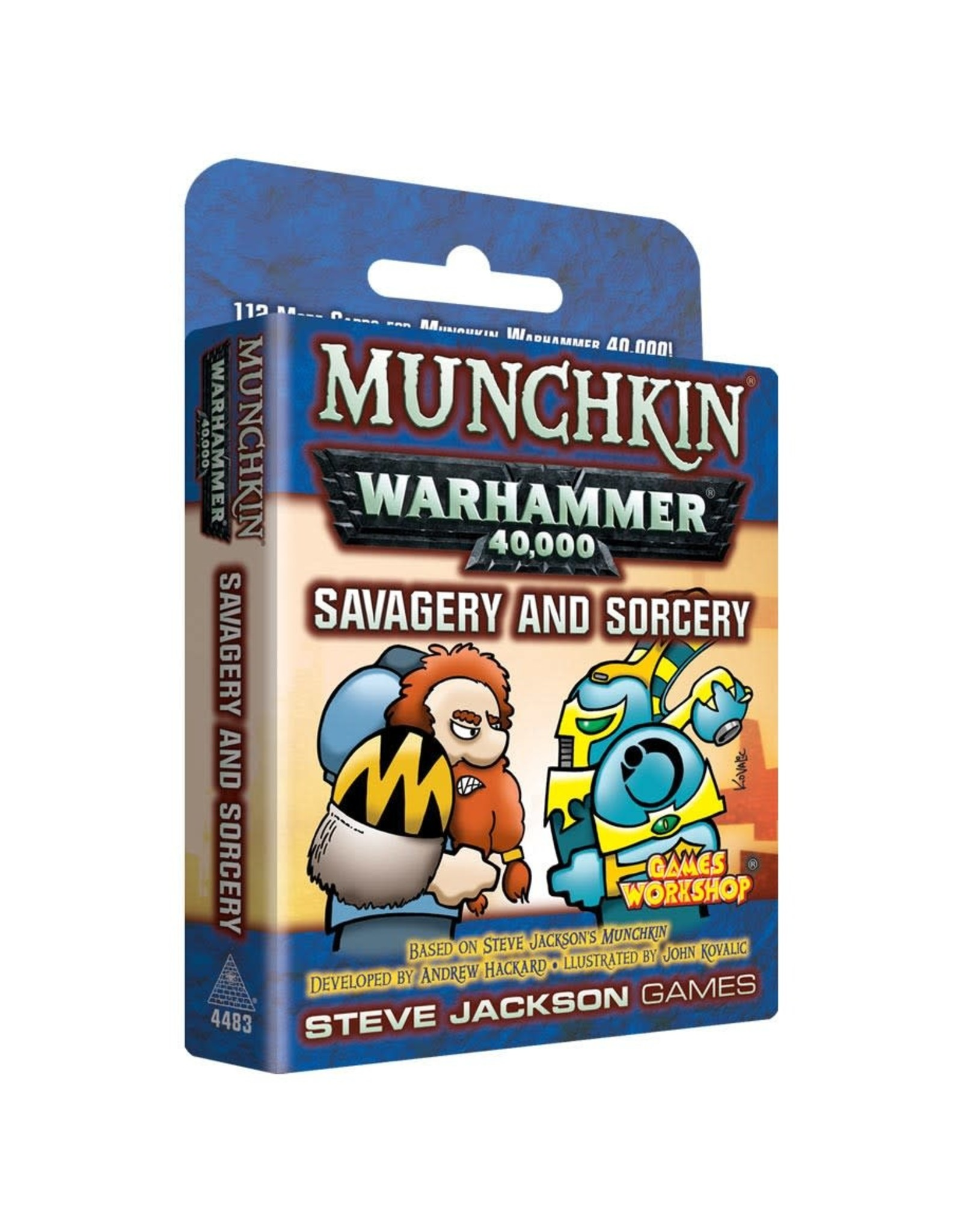 Steve Jackson Games Munchkin: Warhammer 40k Savagery and Sorcery