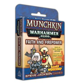 Steve Jackson Games Munchkin: Warhammer 40k Faith and Firepower