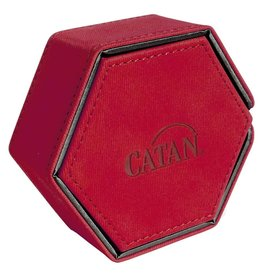 Catan Studios Dice Tower: Catan Hexatower Red