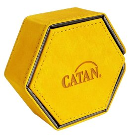Catan Studios Dice Tower: Catan Hexatower Yellow