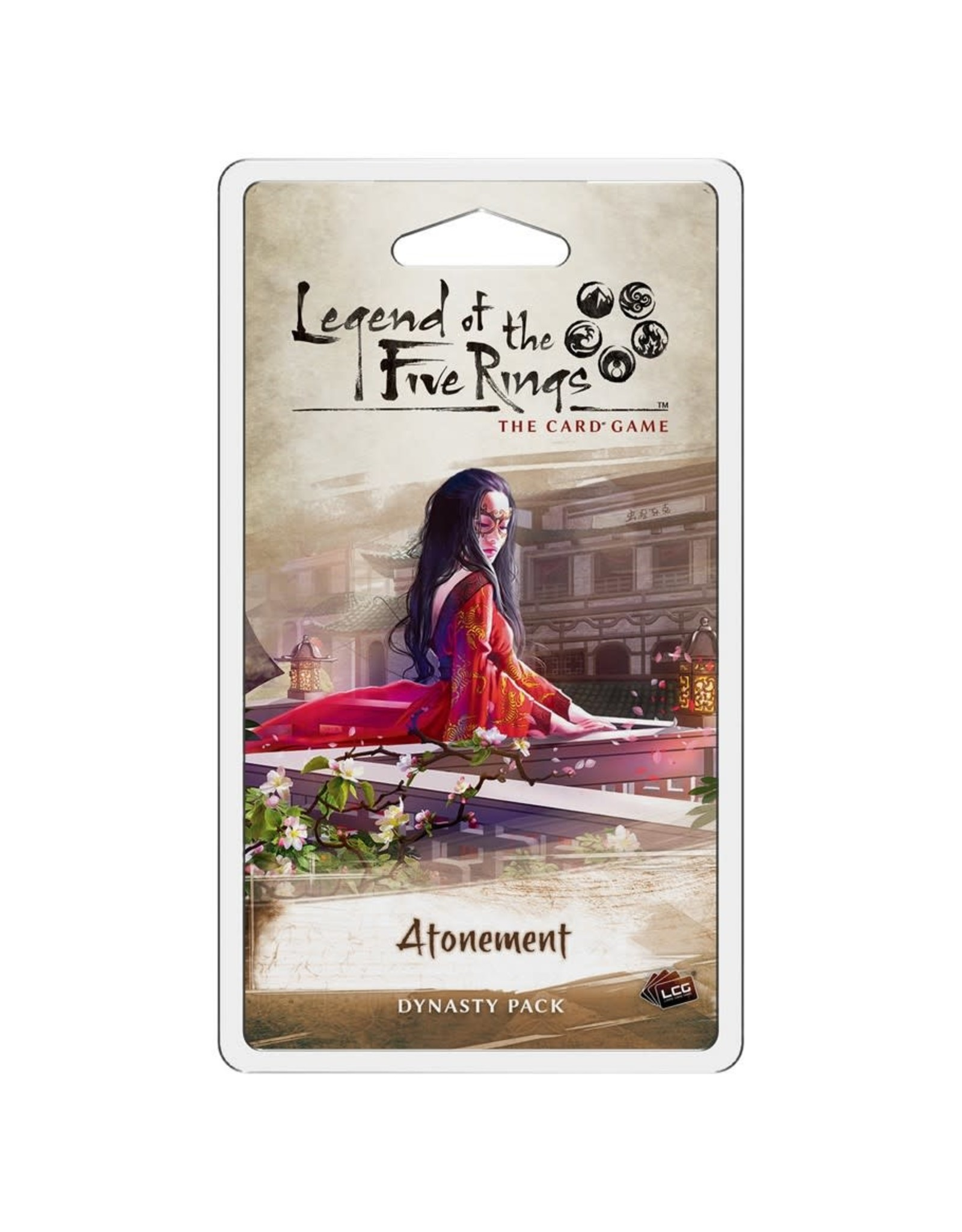 Fantasy Flight Games Legend of the Five Rings LCG: Atonement Dynasty Pack