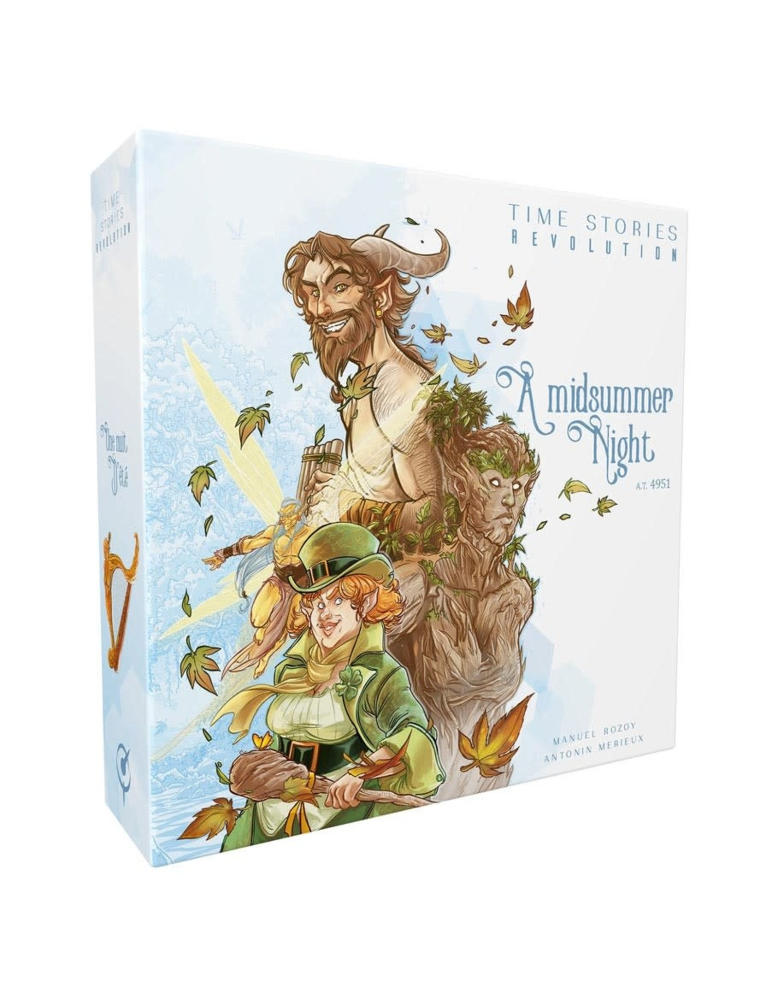 Asmodee TIME Stories: Revolution - A Midsummer's Night (stand alone)
