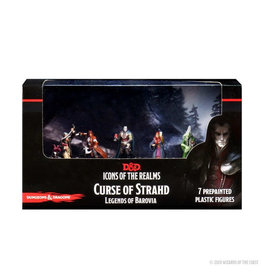 Wizkids D&D Minis: Icons of the Realms - Curse of Strahd Legends of Barovia Premium Set