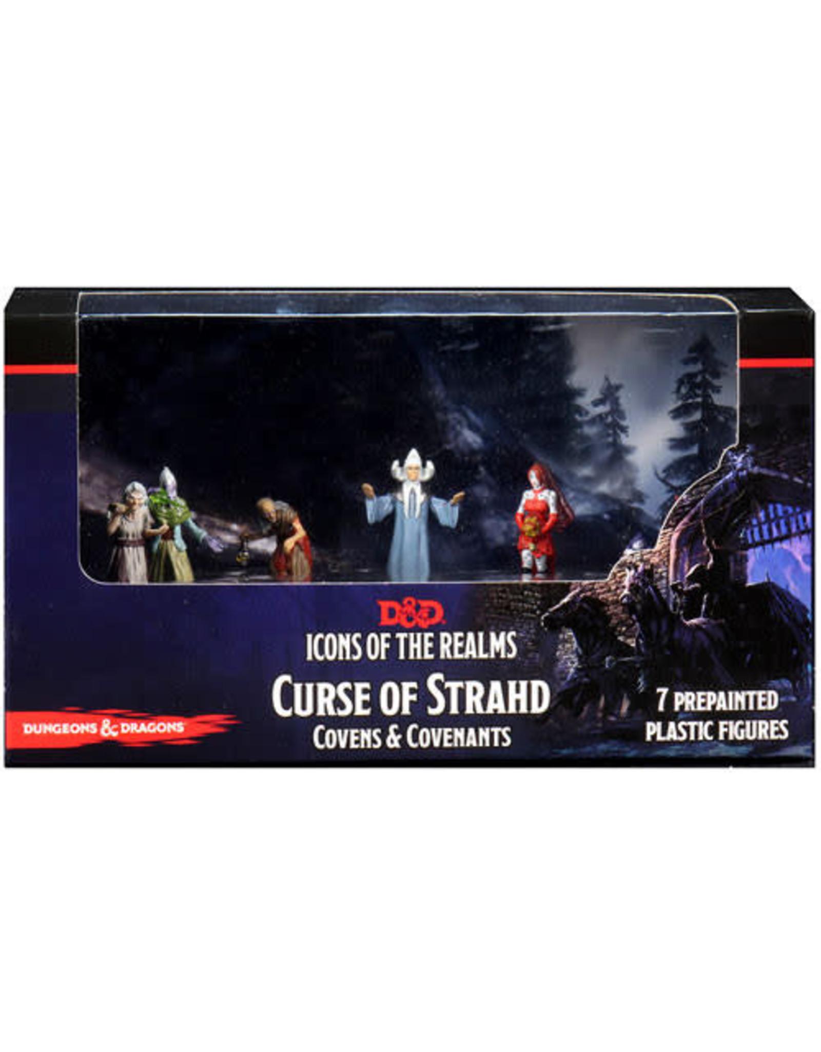 Wizkids D&D Minis: Icons of the Realms - Curse of Strahd Covens & Covenants Premium Box Set