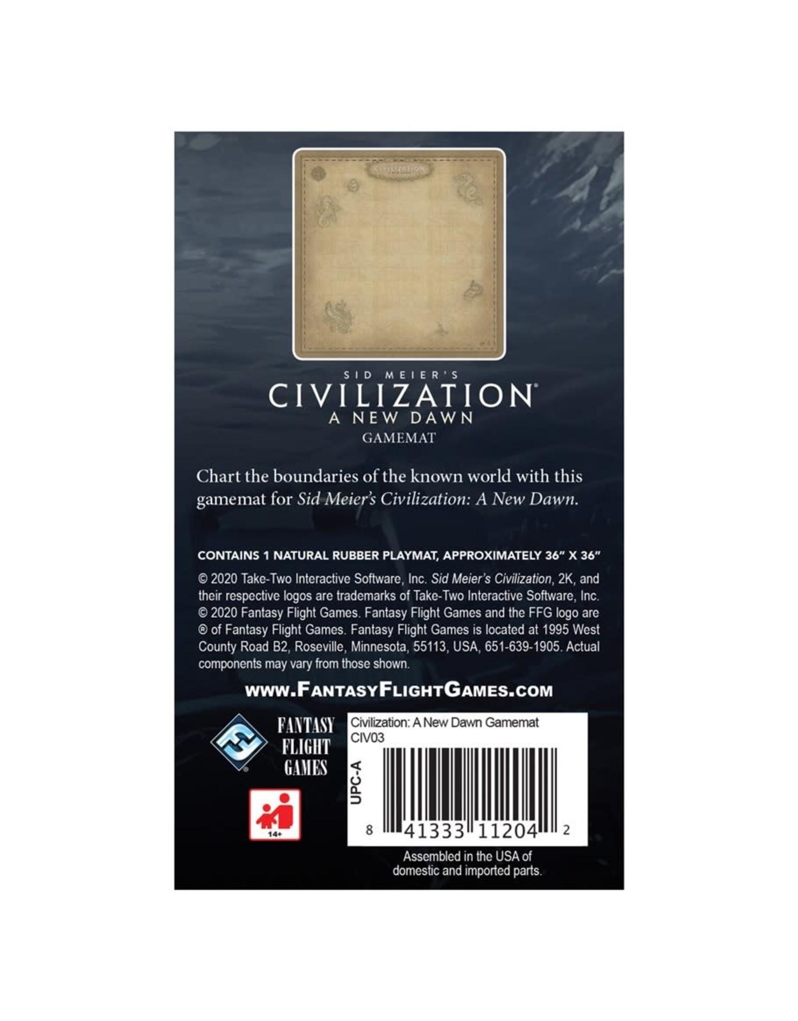 Fantasy Flight Games Civilization A New Dawn: Gamemat