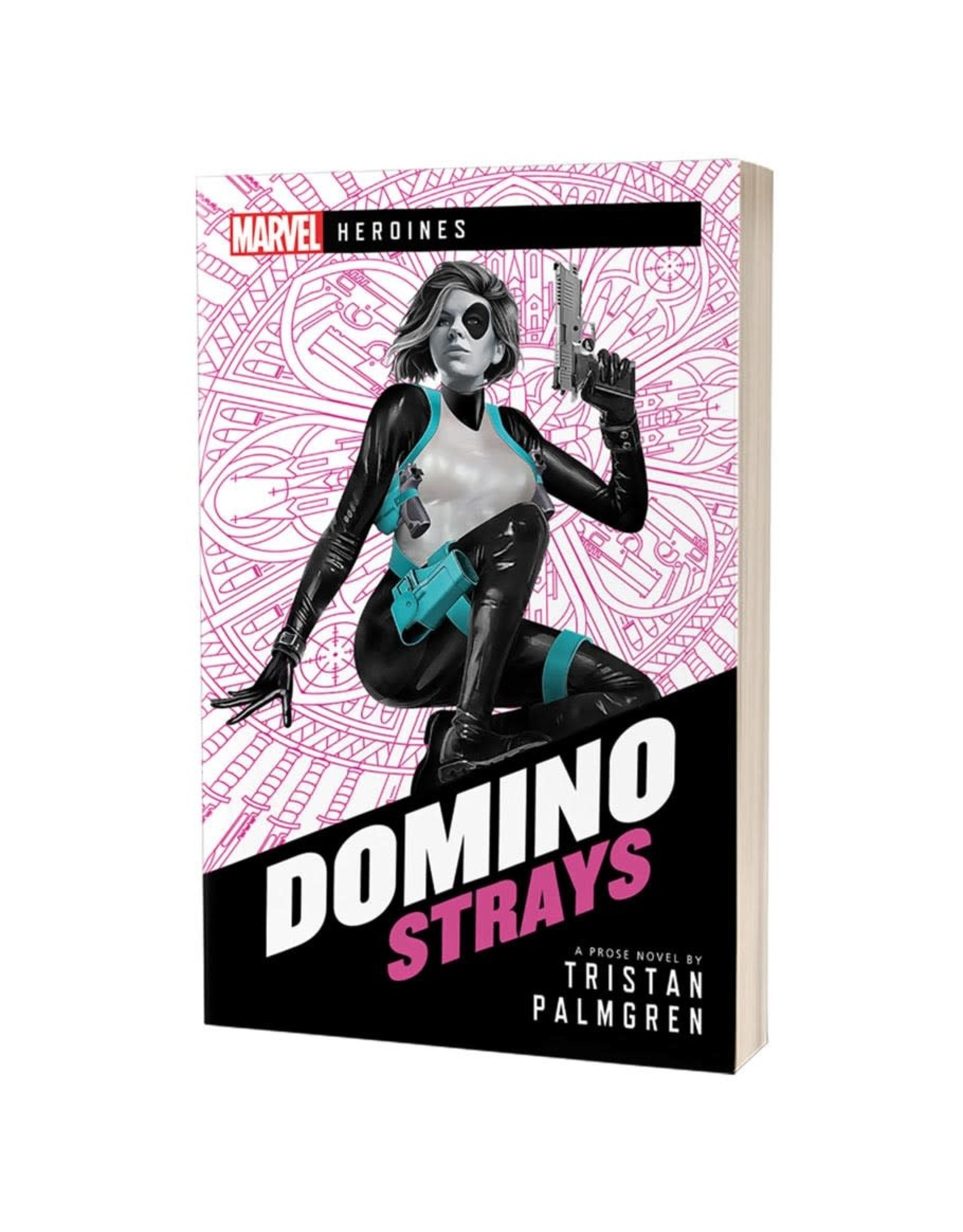 Asmodee Marvel Heroines: Domino - Strays (Novel)