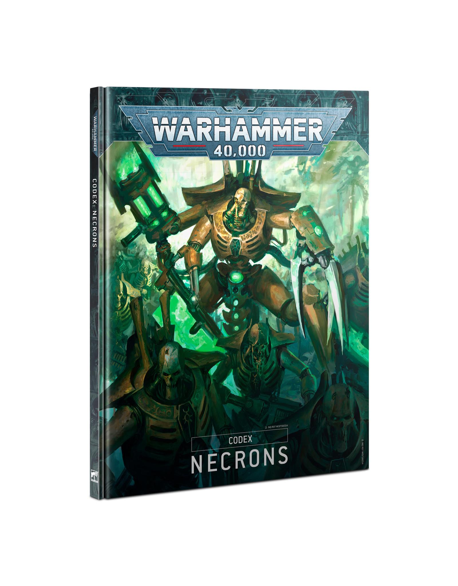 Games Workshop 40K Codex: Necrons (9th)