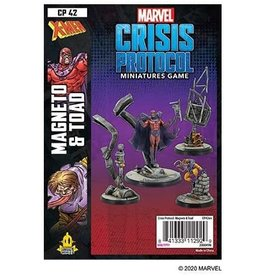 Atomic Mass Games Magneto and Toad - Marvel Crisis Protocol