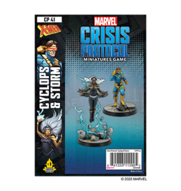 Atomic Mass Games Marvel CP - Cyclops and Storm