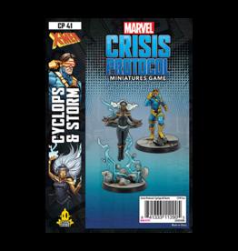 Atomic Mass Games PREORDER Marvel Crisis Protocol: Cyclops & Storm
